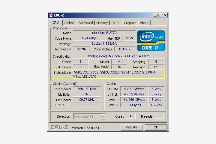 Checking if CPU is 64 Bit