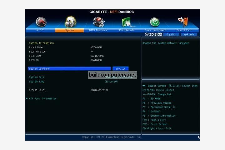 Motherboard BIOS