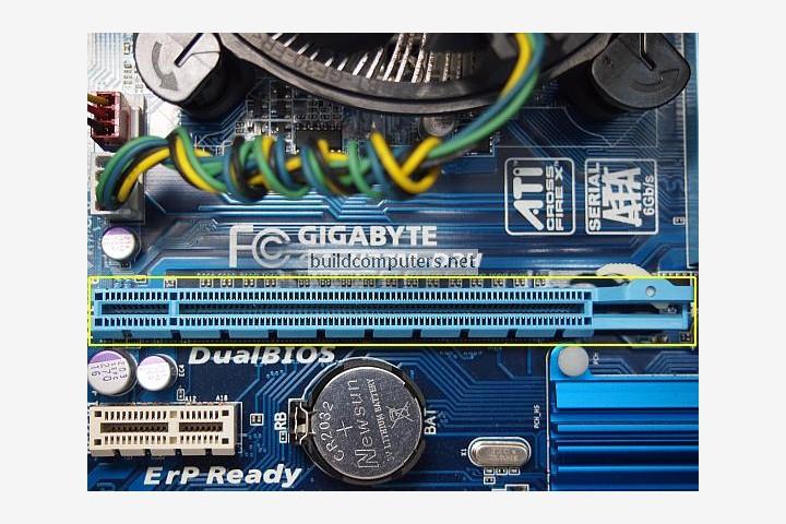 PCI Express x 16 Slot