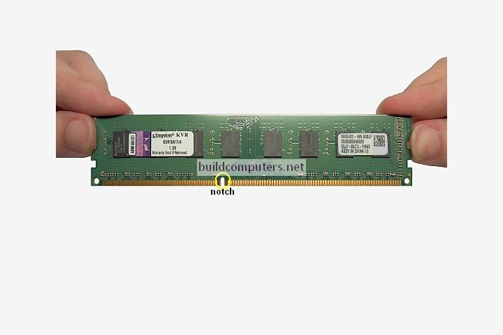 RAM Memory Notch