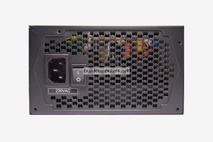 Back of Power Supply Unit