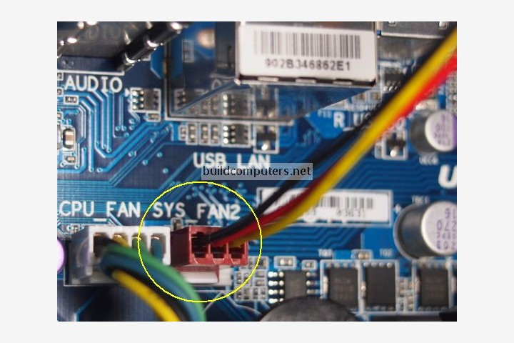 Connecting Case Fan to Motherboard