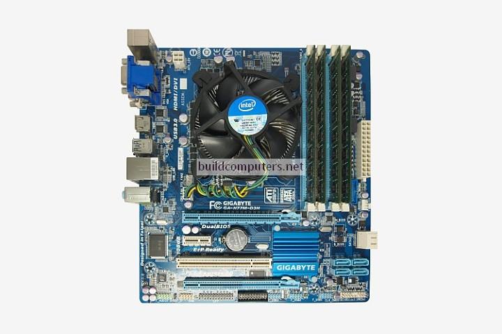 CPU Motherboard RAM