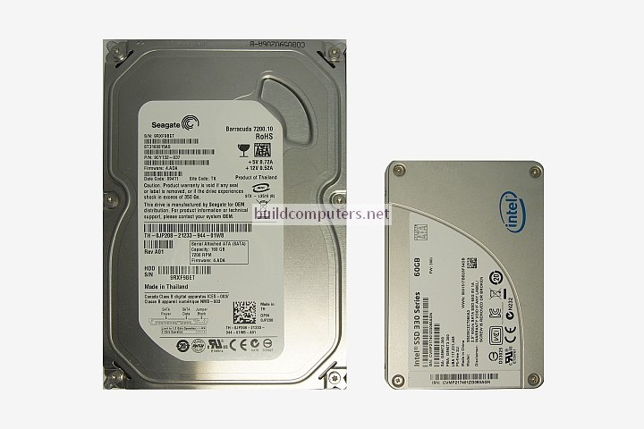 Hard Disk Drive and Solid State Drive