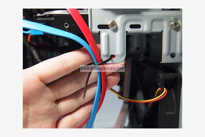 Holding Computer Cables in Place