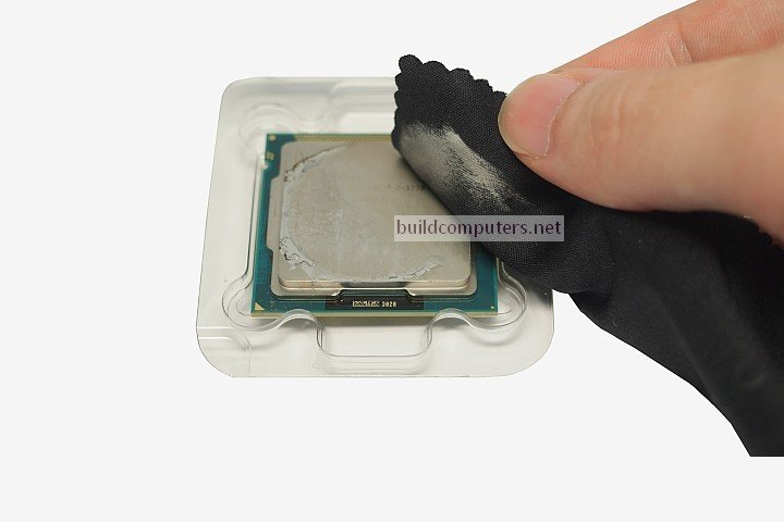 How to Remove CPU Thermal Grease