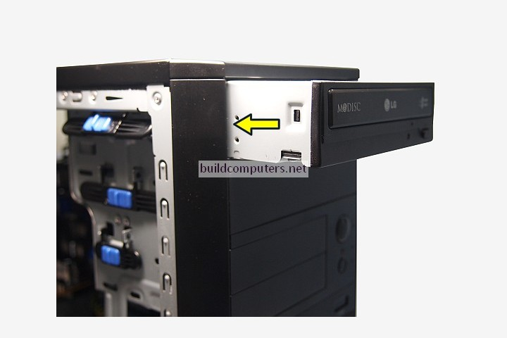 Installing a DVD Drive