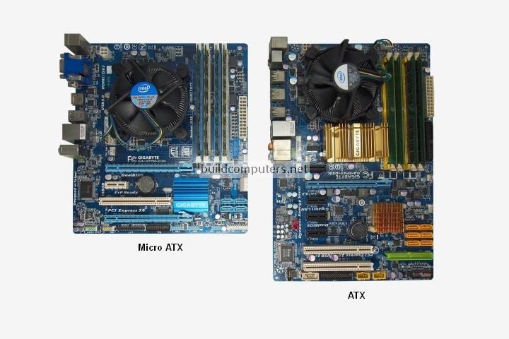 Micro ATX vs ATX Motherboard