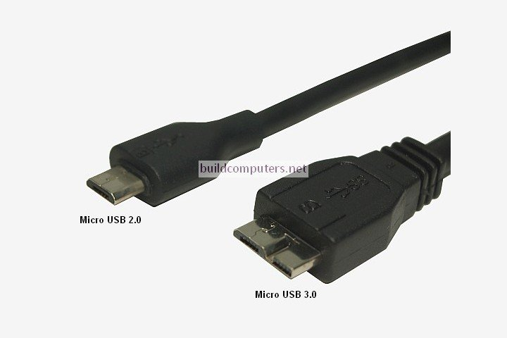 Micro USB 2.0 and 3.0 Cables