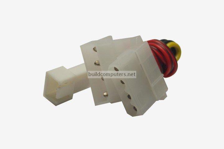 Molex to 3 Pin Fan Adapter