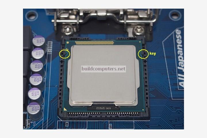 Setting a CPU